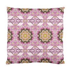 Floral Pattern Seamless Wallpaper Standard Cushion Case (two Sides)