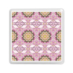 Floral Pattern Seamless Wallpaper Memory Card Reader (square)