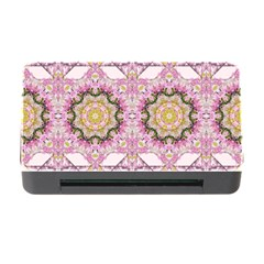 Floral Pattern Seamless Wallpaper Memory Card Reader with CF
