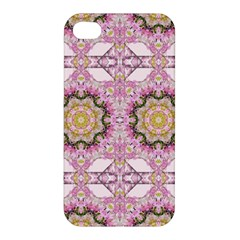 Floral Pattern Seamless Wallpaper Apple iPhone 4/4S Hardshell Case