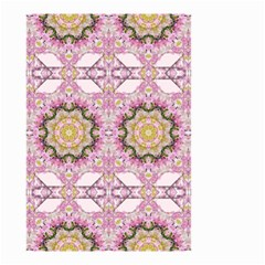 Floral Pattern Seamless Wallpaper Small Garden Flag (Two Sides)