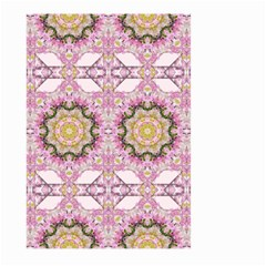 Floral Pattern Seamless Wallpaper Large Garden Flag (Two Sides)