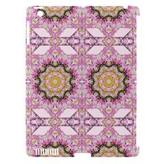 Floral Pattern Seamless Wallpaper Apple iPad 3/4 Hardshell Case (Compatible with Smart Cover)