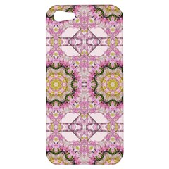 Floral Pattern Seamless Wallpaper Apple iPhone 5 Hardshell Case