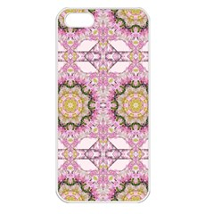 Floral Pattern Seamless Wallpaper Apple iPhone 5 Seamless Case (White)