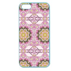 Floral Pattern Seamless Wallpaper Apple Seamless iPhone 5 Case (Color)