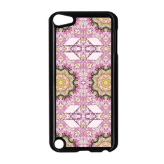 Floral Pattern Seamless Wallpaper Apple iPod Touch 5 Case (Black)