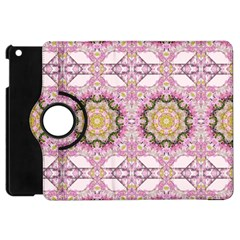 Floral Pattern Seamless Wallpaper Apple iPad Mini Flip 360 Case