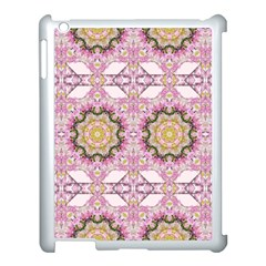 Floral Pattern Seamless Wallpaper Apple iPad 3/4 Case (White)