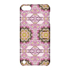 Floral Pattern Seamless Wallpaper Apple iPod Touch 5 Hardshell Case with Stand