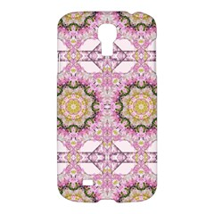Floral Pattern Seamless Wallpaper Samsung Galaxy S4 I9500/I9505 Hardshell Case