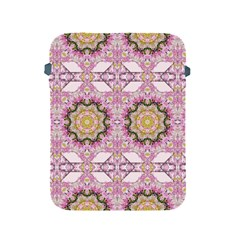 Floral Pattern Seamless Wallpaper Apple iPad 2/3/4 Protective Soft Cases