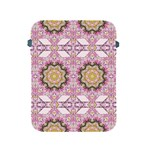 Floral Pattern Seamless Wallpaper Apple iPad 2/3/4 Protective Soft Cases Front