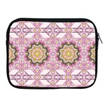 Floral Pattern Seamless Wallpaper Apple iPad 2/3/4 Zipper Cases Front