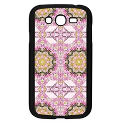 Floral Pattern Seamless Wallpaper Samsung Galaxy Grand Duos I9082 Case (black)