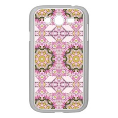 Floral Pattern Seamless Wallpaper Samsung Galaxy Grand DUOS I9082 Case (White)