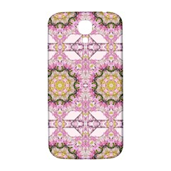 Floral Pattern Seamless Wallpaper Samsung Galaxy S4 I9500/I9505  Hardshell Back Case