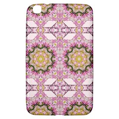 Floral Pattern Seamless Wallpaper Samsung Galaxy Tab 3 (8 ) T3100 Hardshell Case