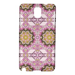 Floral Pattern Seamless Wallpaper Samsung Galaxy Note 3 N9005 Hardshell Case