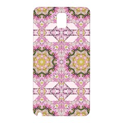Floral Pattern Seamless Wallpaper Samsung Galaxy Note 3 N9005 Hardshell Back Case