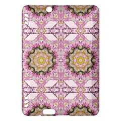 Floral Pattern Seamless Wallpaper Kindle Fire HDX Hardshell Case