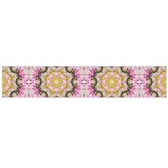 Floral Pattern Seamless Wallpaper Flano Scarf (Large)