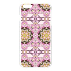 Floral Pattern Seamless Wallpaper Apple Seamless iPhone 6 Plus/6S Plus Case (Transparent)
