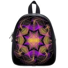 Pattern Design Geometric Decoration School Bags (small)