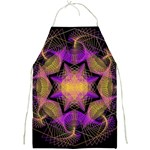 Pattern Design Geometric Decoration Full Print Aprons Front