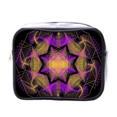 Pattern Design Geometric Decoration Mini Toiletries Bags