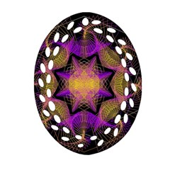 Pattern Design Geometric Decoration Ornament (oval Filigree)