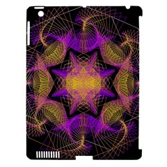 Pattern Design Geometric Decoration Apple iPad 3/4 Hardshell Case (Compatible with Smart Cover)