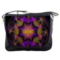 Pattern Design Geometric Decoration Messenger Bags