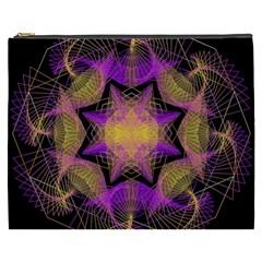 Pattern Design Geometric Decoration Cosmetic Bag (XXXL)