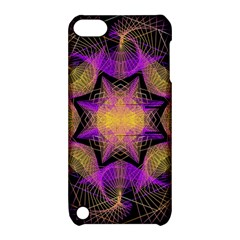 Pattern Design Geometric Decoration Apple iPod Touch 5 Hardshell Case with Stand