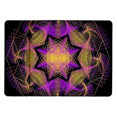 Pattern Design Geometric Decoration Samsung Galaxy Tab 10.1  P7500 Flip Case
