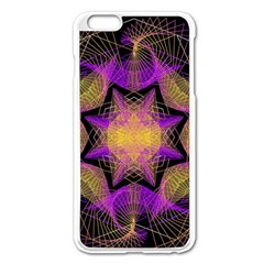 Pattern Design Geometric Decoration Apple iPhone 6 Plus/6S Plus Enamel White Case