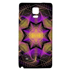 Pattern Design Geometric Decoration Galaxy Note 4 Back Case