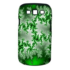 Green Fractal Background Samsung Galaxy S III Classic Hardshell Case (PC+Silicone)