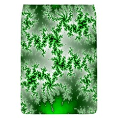 Green Fractal Background Flap Covers (S)
