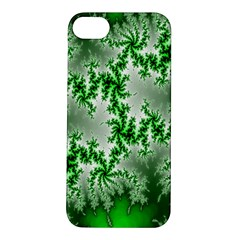 Green Fractal Background Apple iPhone 5S/ SE Hardshell Case
