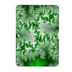 Green Fractal Background Samsung Galaxy Tab 2 (10.1 ) P5100 Hardshell Case
