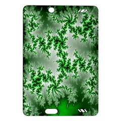 Green Fractal Background Amazon Kindle Fire Hd (2013) Hardshell Case