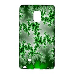 Green Fractal Background Galaxy Note Edge
