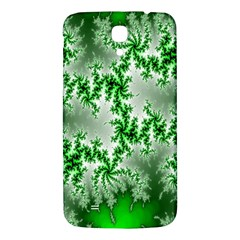 Green Fractal Background Samsung Galaxy Mega I9200 Hardshell Back Case