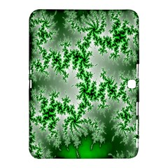 Green Fractal Background Samsung Galaxy Tab 4 (10.1 ) Hardshell Case