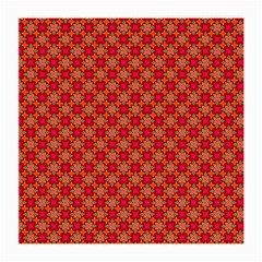 Abstract Seamless Floral Pattern Medium Glasses Cloth