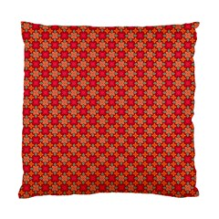 Abstract Seamless Floral Pattern Standard Cushion Case (two Sides)