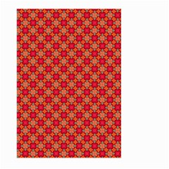Abstract Seamless Floral Pattern Large Garden Flag (Two Sides)