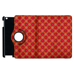 Abstract Seamless Floral Pattern Apple iPad 3/4 Flip 360 Case